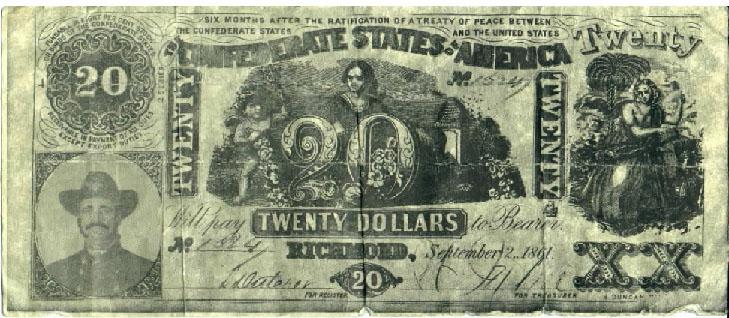 confederate paper money for sale Buy civil war money confederate currency from civil war money confederate currency sale 1864 $100 dollar bill confederate states note civil war paper money t.